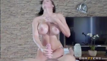 Big tits schoolgirl loving her first time