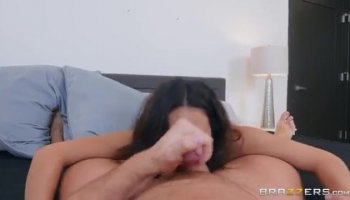 Sexy hot babe having a huge
