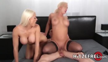 Stunning slut gets fully pleasured by a schlong