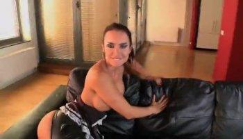 Rough yet ravishing sex for a stunning ebon